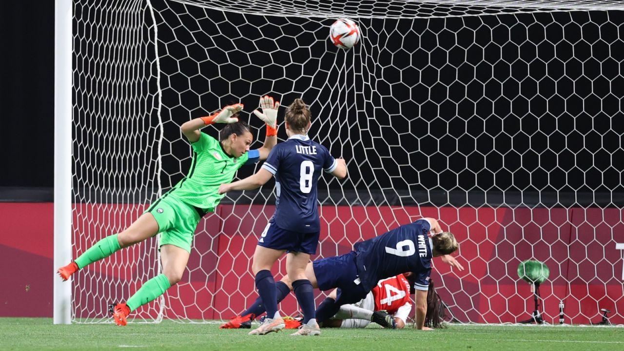 Igrzyska Olimpijskie w Tokio. Piłka nożna kobiet. Wielka Brytania pokonała Chile, Brazylia Chiny, a Szwecja USA (sport.tvp.pl)