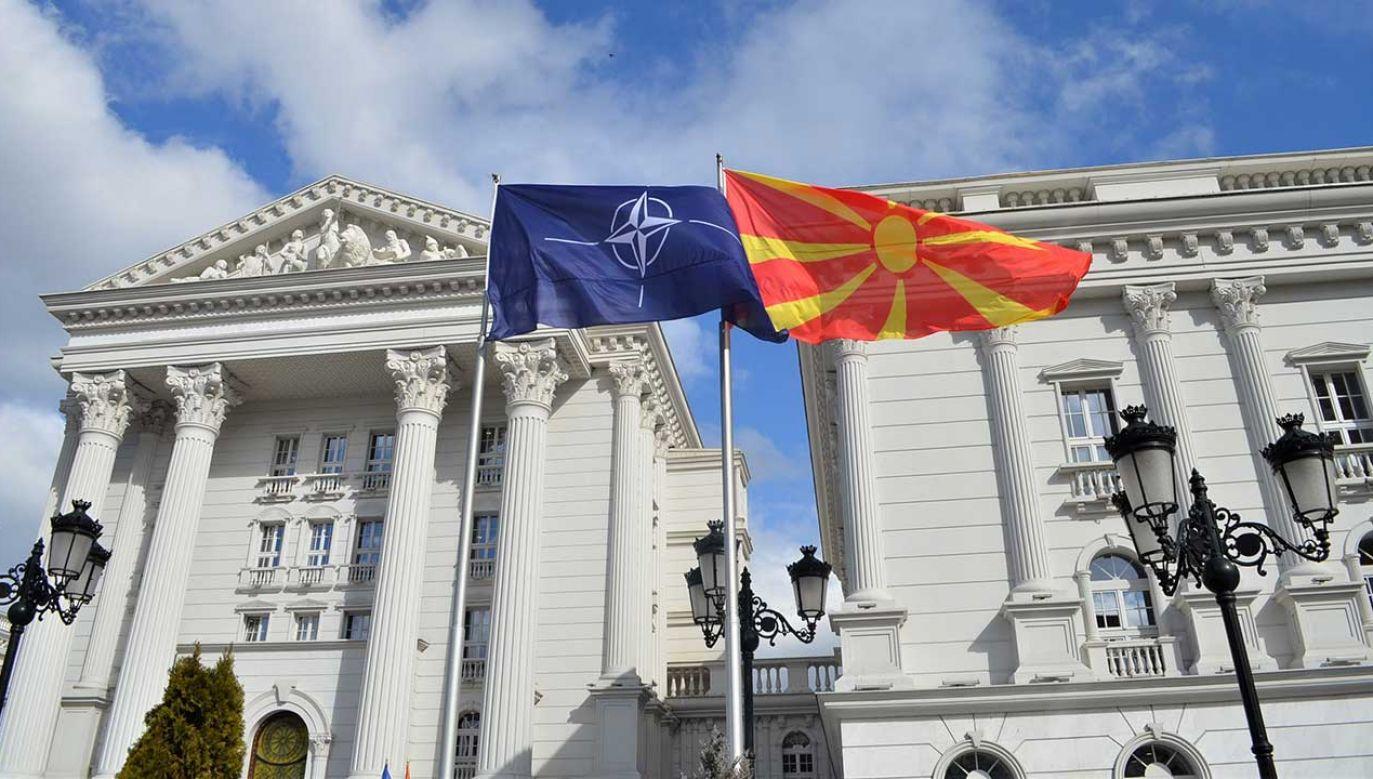 W przeciwieństwie do sytuacji w UE proces dołączania Macedonii Północnej do Sojuszu Północnoatlantyckiego jest bardzo zaawansowany (fot. Husamedin Gina/Anadolu Agency/Getty Images)