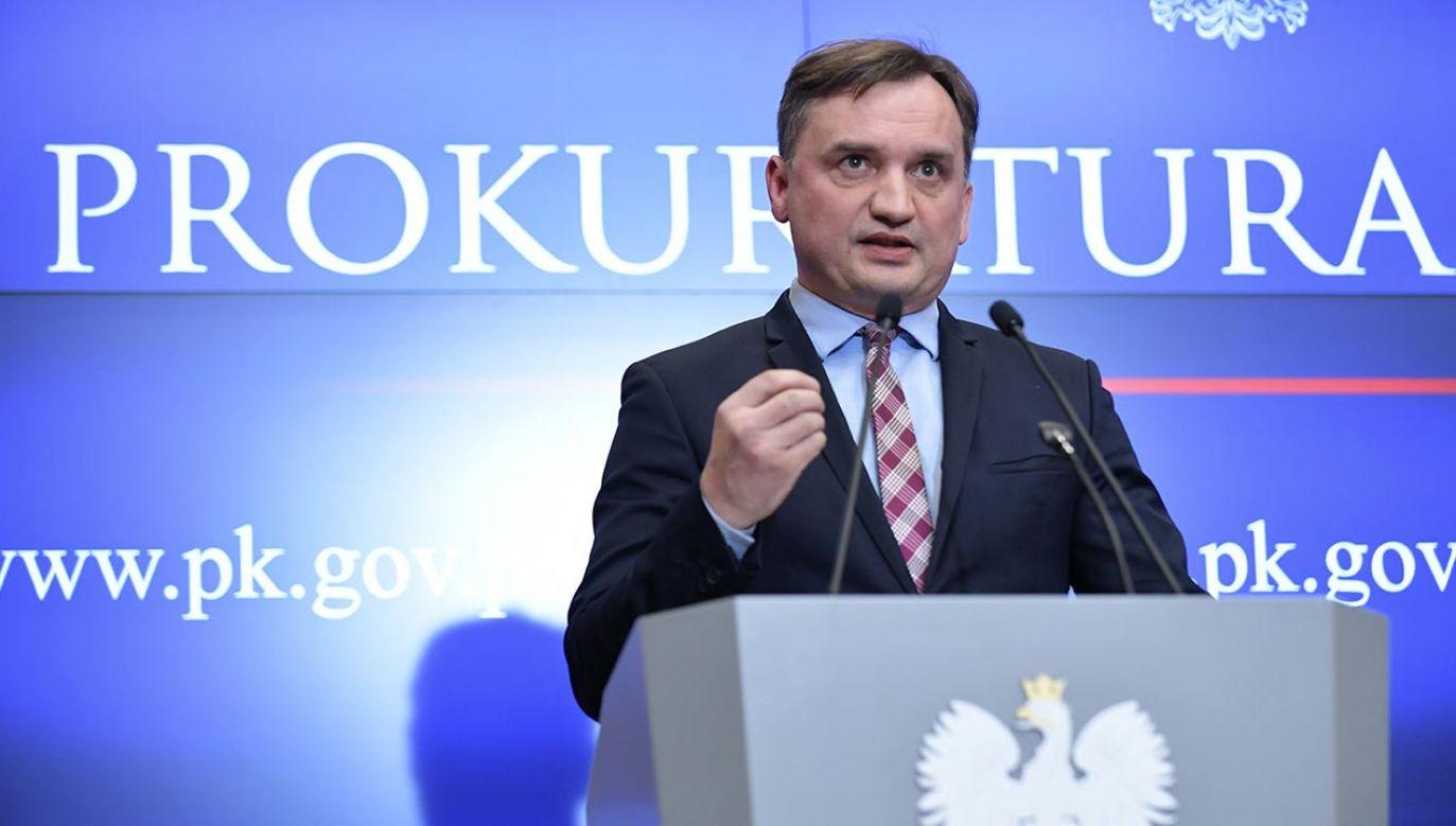 Minister sprawiedliwości Zbigniew Ziobro (fot.  PAP/Marcin Obara)