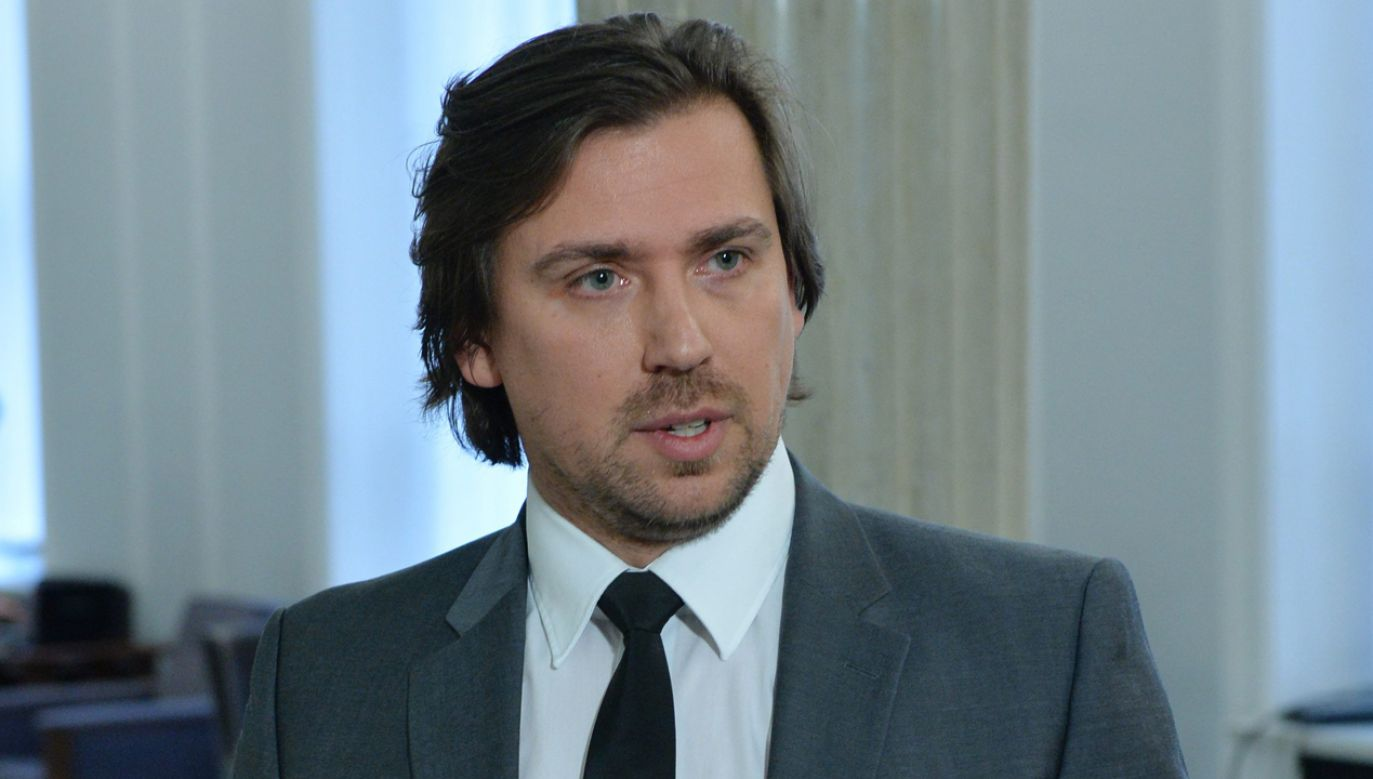 Tomasz Kaczmarek   w programie TVN uderza w obecnych szefów specsłużb (fot. arch. PAP/Radek Pietruszka)