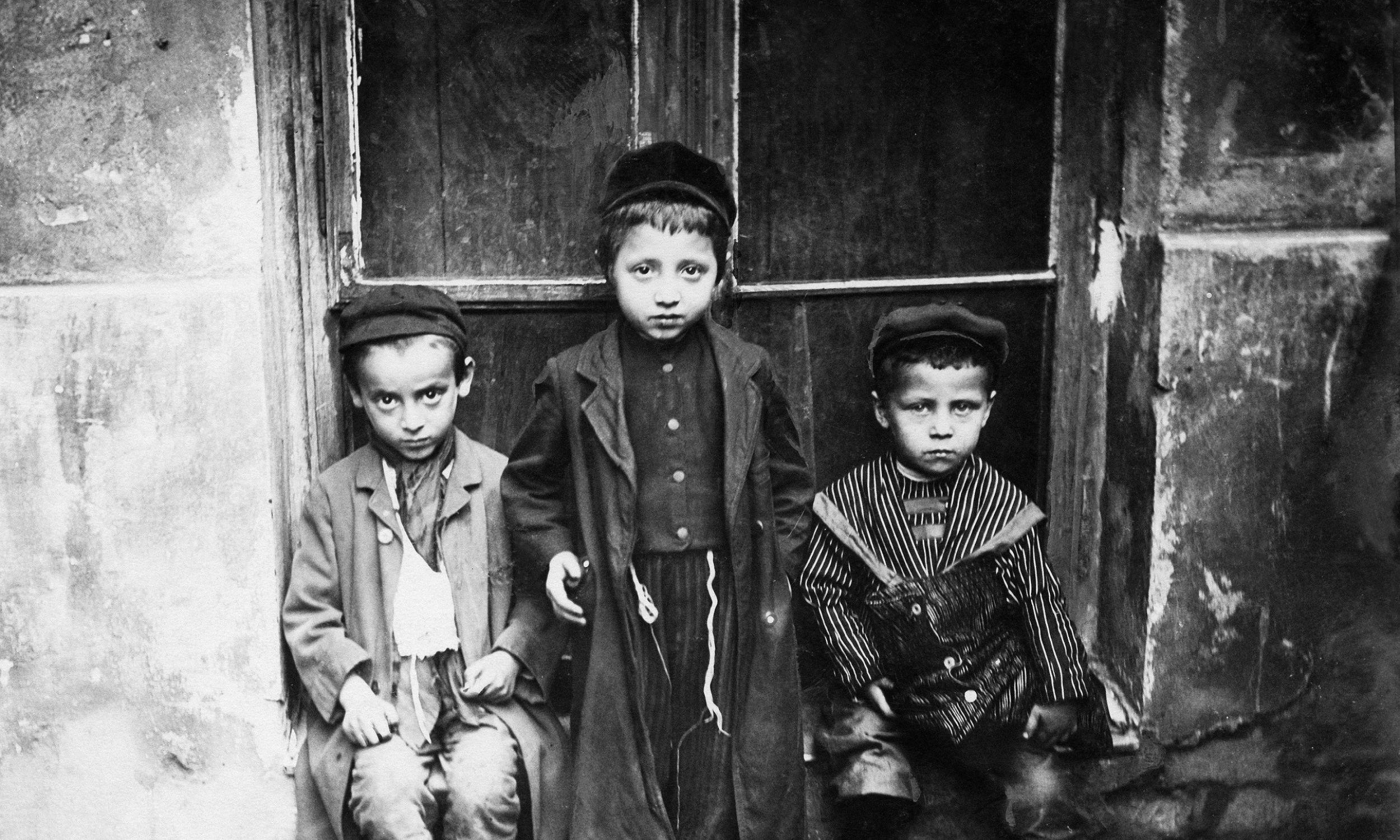Dzieci żydowskie w Warszawie - około 1906 r. Fot. Ullstein bild / ullstein bild via Getty Images