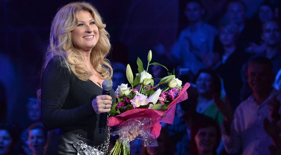 Gwiazdą wieczoru była Beata Kozidrak, która świętowała 35-lecie pracy artystycznej (fot. I. Sobieszczuk/TVP)
