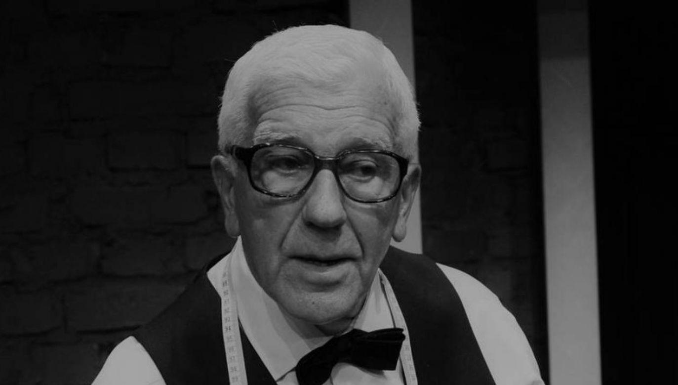 Zmarł Henryk Łapiński; miał 87 lat   (fot.  PAP/Andrzej Rybczyński)