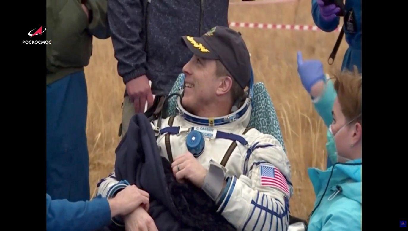 Astronauci przebywali na orbicie ponad pół roku (fot. Reuters/Roskosmos)