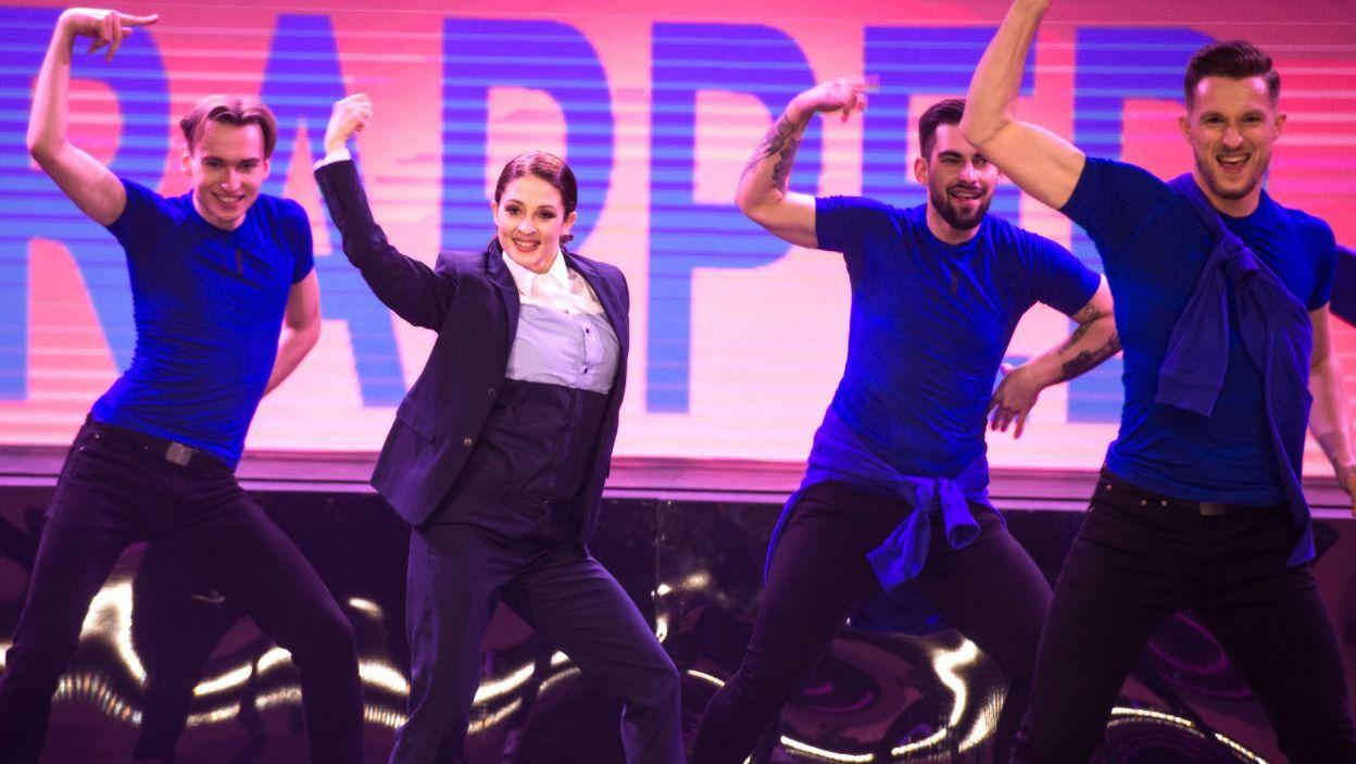 To była bardzo trudna choreografia! Czy występ Anny Matysiak stał się przepustką do wielkiego finału? (fot. TVP)