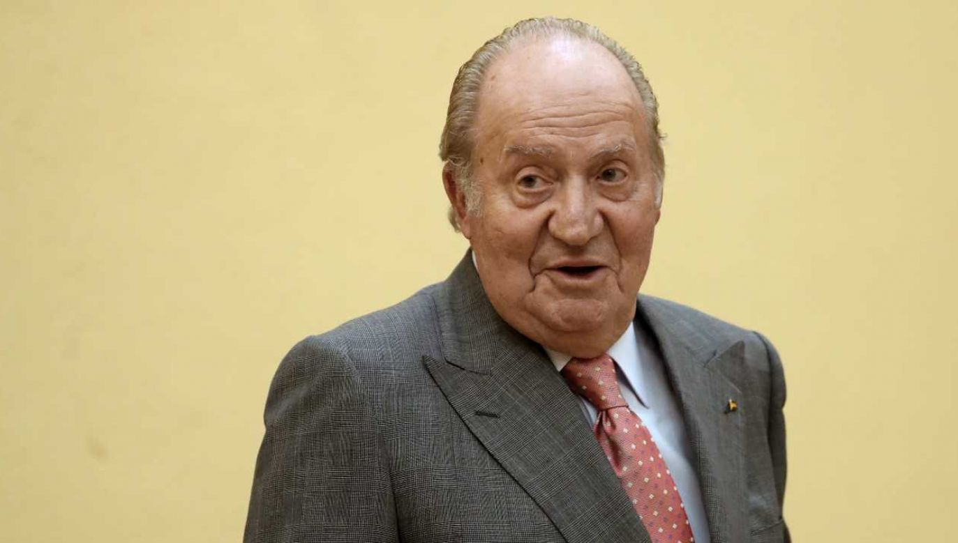 Juan Carlos wycofał się z życia publicznego (fot. PAP/EPA/Sergio Barrenechea)