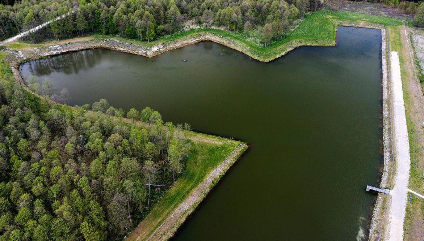 Andrzej Duda zachęcał Polaków do prowadzenia małej retencji wody (fot. PAP/Darek Delmanowicz)