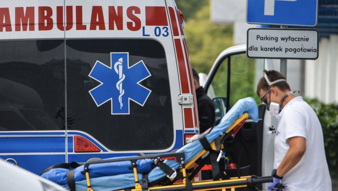 Nadzorem epidemiologicznym objęto na Mazowszu 1 267 osób (fot. Artur Widak/NurPhoto via Getty Images)
