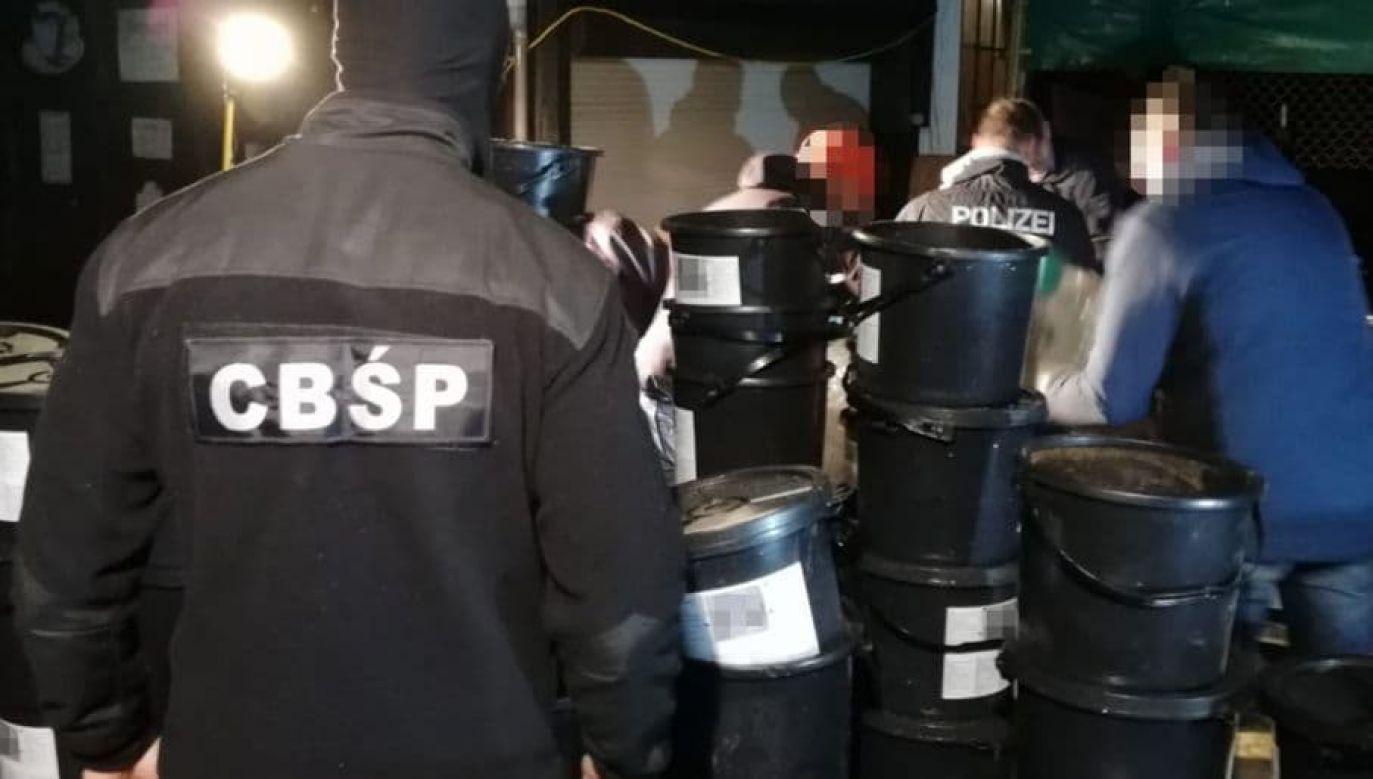 Gang przemycał ogromne ilości narkotyków m.in. przez Niemcy, gdzie doszło do kilku wpadek (fot. CBŚP, zdjęcie ilustracyne)