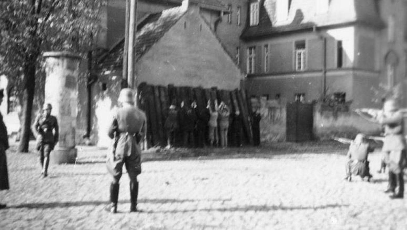 Egzekucja Polaków w Kórniku, 20 października 1939 r. (fot. Bundesarchiv_Bild_146-1968-034-19A)
