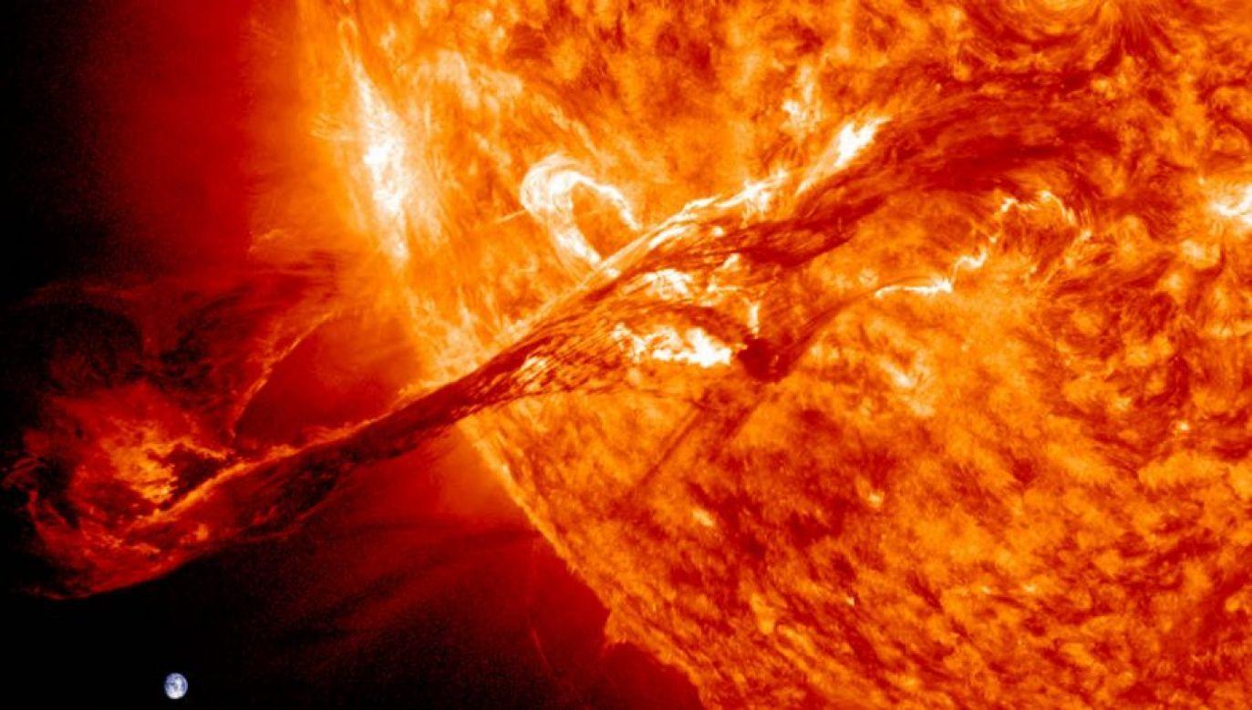 Zmiany aktywności Słońca są obserwowane cyklicznie (fot. NASA/SDO/AIA)