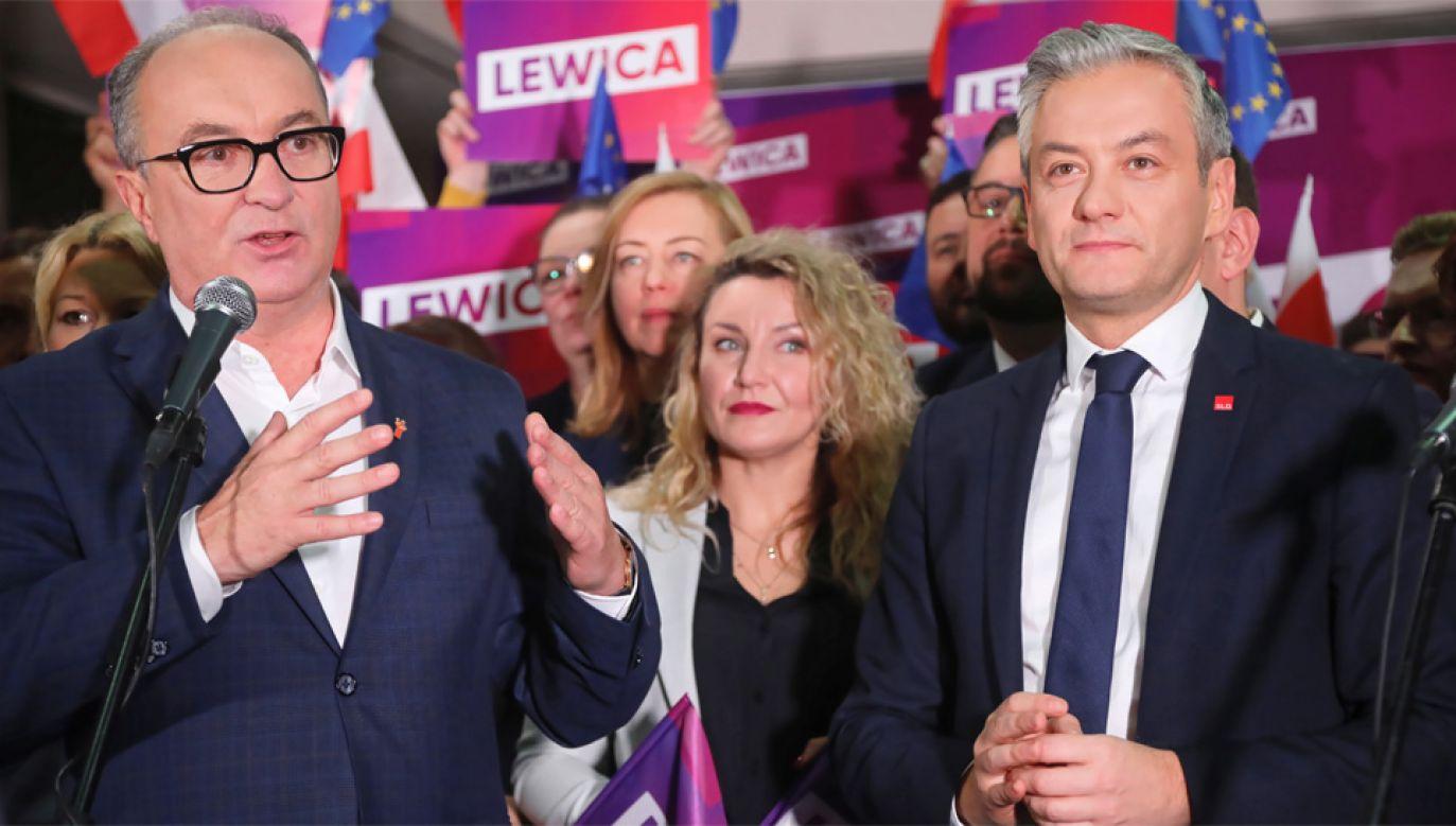 SLD Włodzimierza Czarzastego połączy się z Wiosną Roberta Biedronia (fot. PAP/Wojciech Olkuśnik)