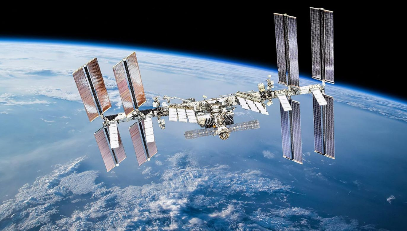 Wyciek zlokalizowano w module Zwiezda, należącym do rosyjskiej części stacji (fot. Shutterstock/Dima Zel)