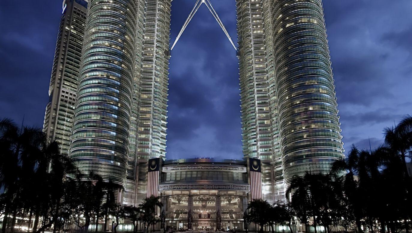 Cesar Pelli był autorem m.in. słynnych dwóch wież Petronas Towers  w Kuala Lumpur  (fot. Wikimedia Commons Someformofhuman)