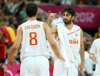 Hiszpanie wygrali z Rosją 67:59 i zagrają o złoty medal igrzysk olimpijskich (fot. Getty Images)