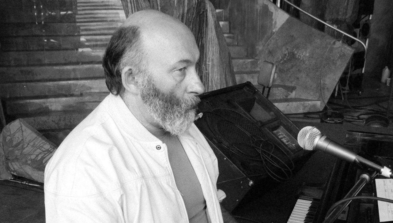 W wieku 76 lat zmarł kompozytor Antoni Kopff  (fot. PAP/Krzysztof Świderski)