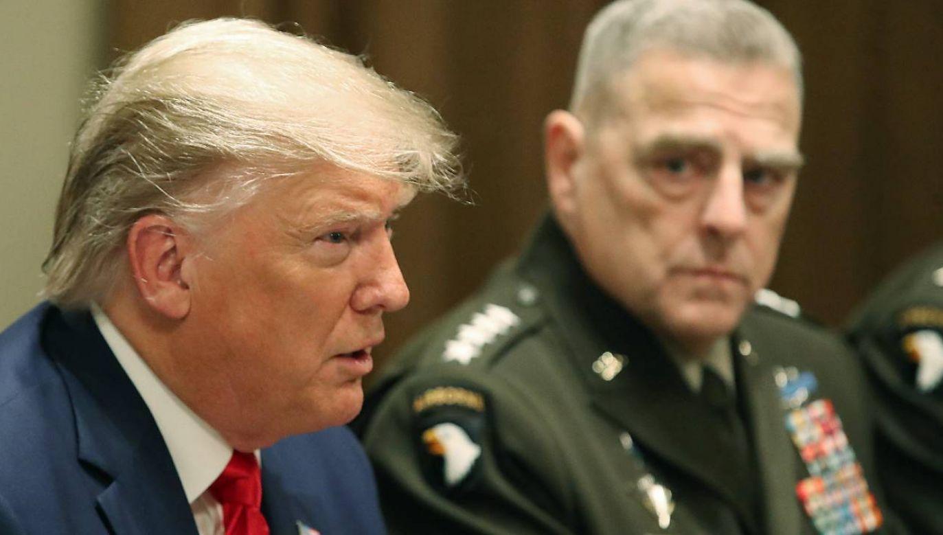 Gen. Mark Milley chciał ograniczyć władzę Donalda Trumpa (fot. Mark Wilson/Getty Images)