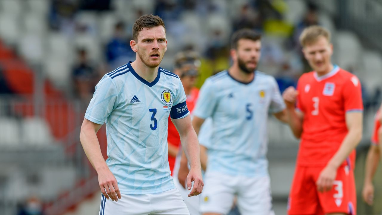 Andy Robertson to niekwestionowany lider reprezentacji Szkocji (fot. Getty Images)