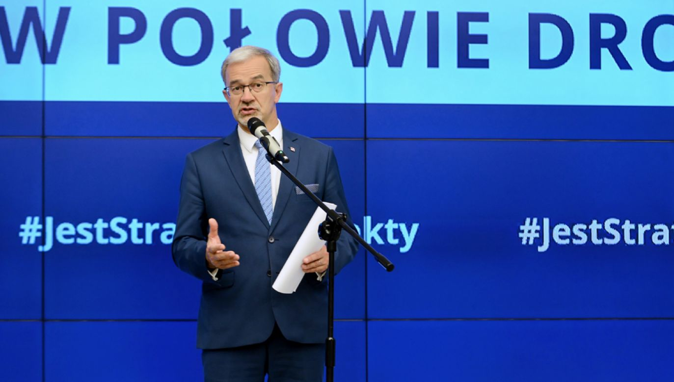 Minister inwestycji i rozwoju Jerzy Kwieciński (fot. arch PAP / Jakub Kamiński)