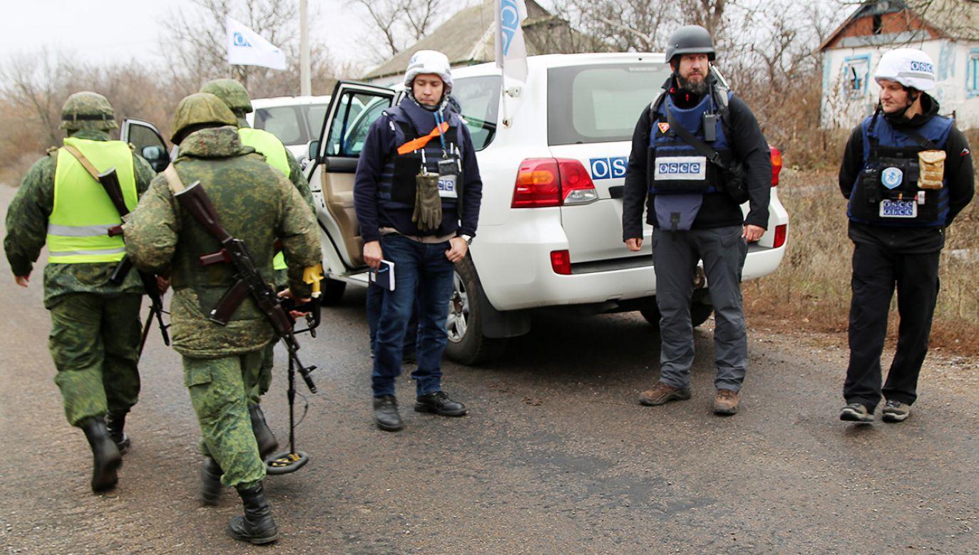 Rosja koncentruje swoje wojska na granicy z Ukrainą (fot.  Valentin Sprinchak\TASS via Getty Images)