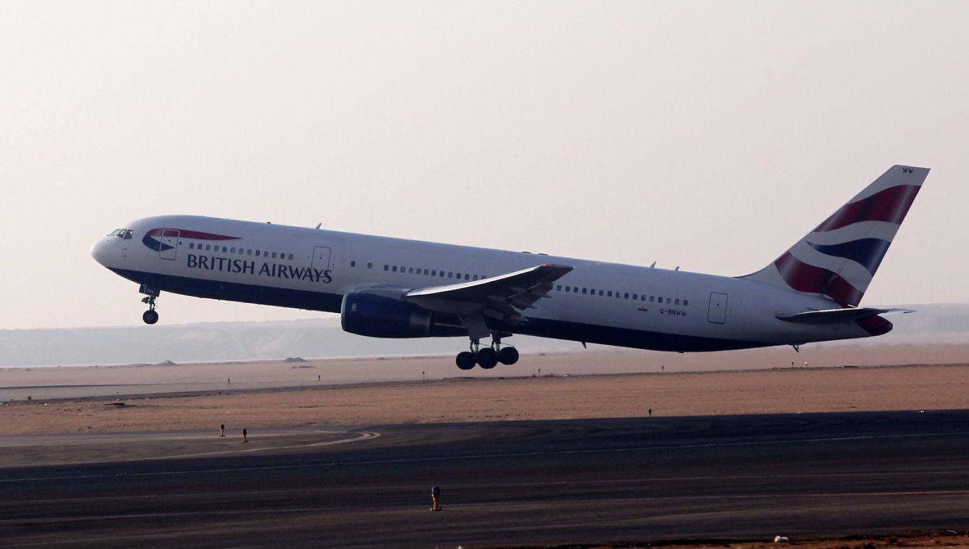 British Airways wstrzymały loty do Kairu na tydzień (fot. PAP/EPA/KHALED ELFIQI)