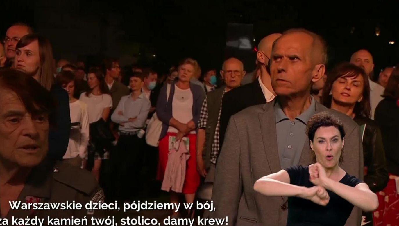Do artystycznego tłumaczenia piosenek przygotowywały się kilka tygodni (fot. TVP)