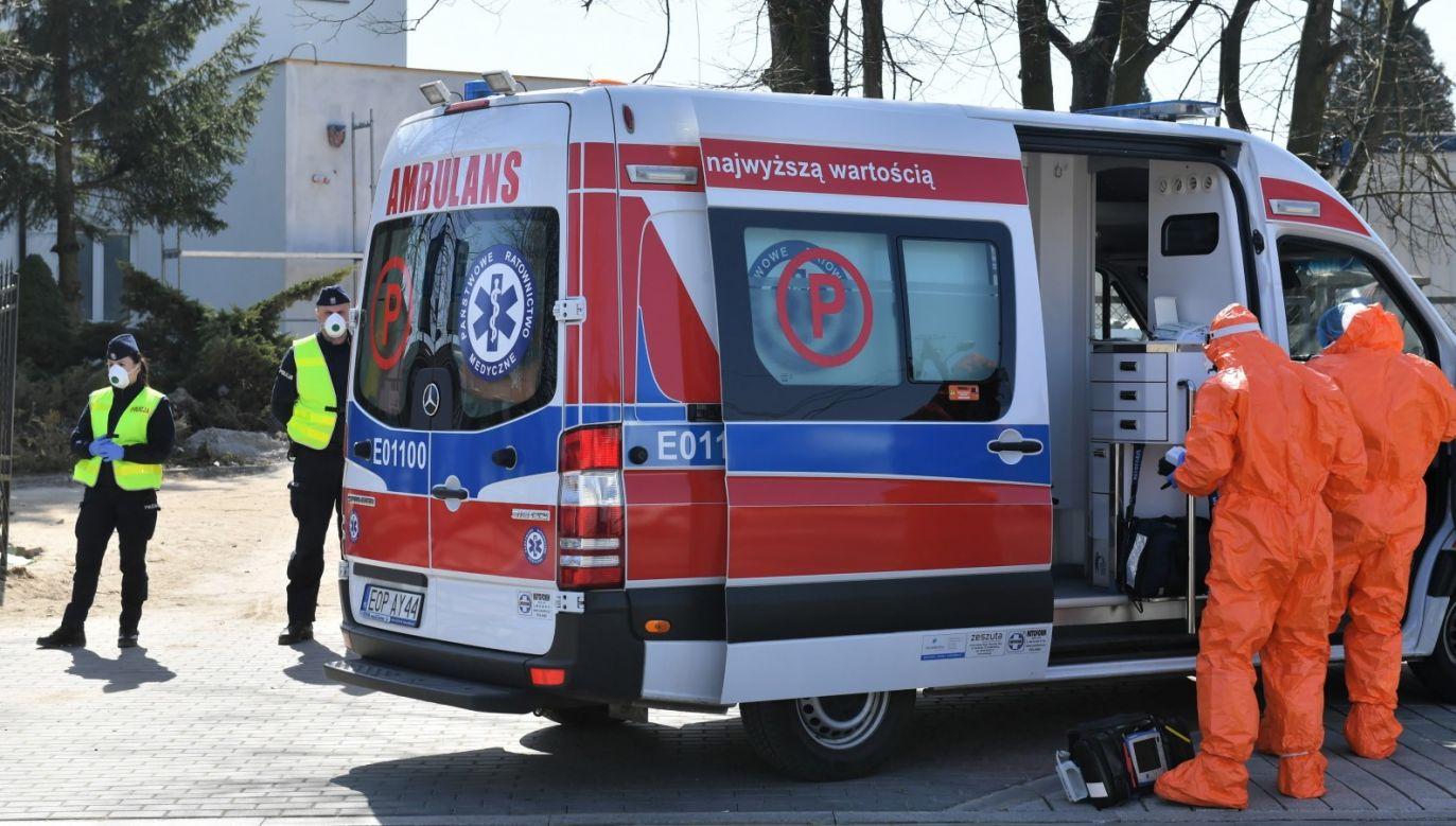 W sumie liczba zakażonych koronawirusem w Polsce wynosi 4102 osoby. 94 osoby zmarły (fot. PAP/Grzegorz Michałowski)