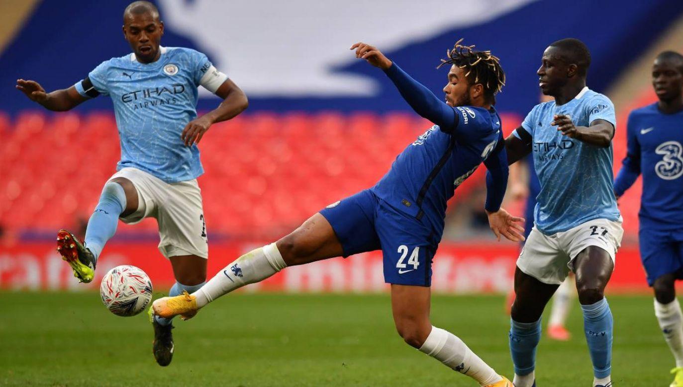 Chelsea Londyn i Manchester City zgłosiły się do Superligi, ale mogą się wycofać (fot. PAP/EPA/Ben Stansall / POOL)