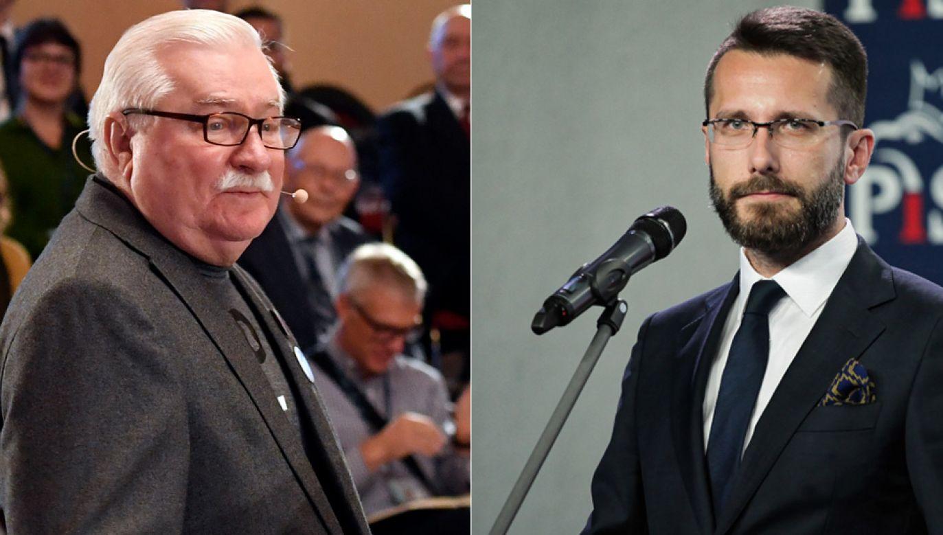 Według wicerzecznika PiS na wpis Wałęsy trzeba wziąć poprawkę - nikt już b. prezydenta nie traktuje poważnie  (fot. arch.PAP/Michal Krumphanzl/Mateusz Marek)