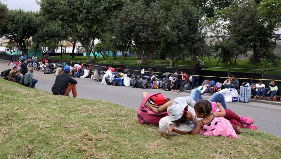 Każdego dnia z Wenezueli ucieka około 5 tys. osób (fot. Lokman Ilhan/Anadolu Agency/Getty Images)