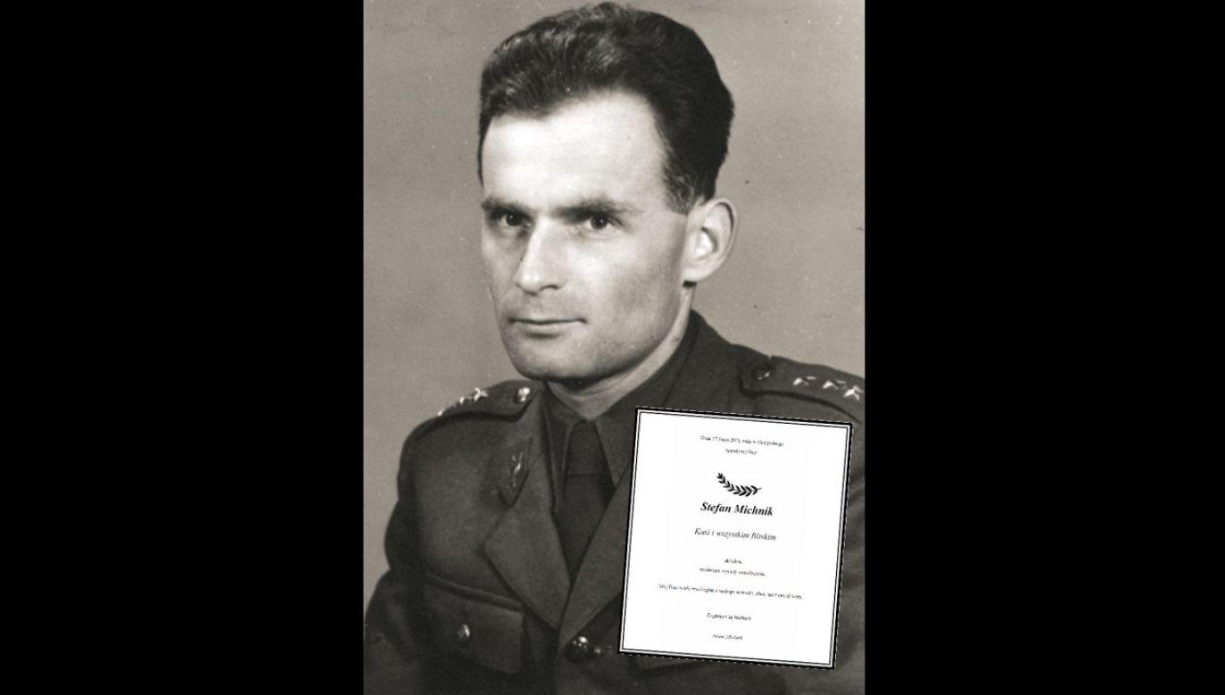 Kapitan Stefan Michnik (fot. IPN/domena publiczna / nekrologi.wyborcza.pl)