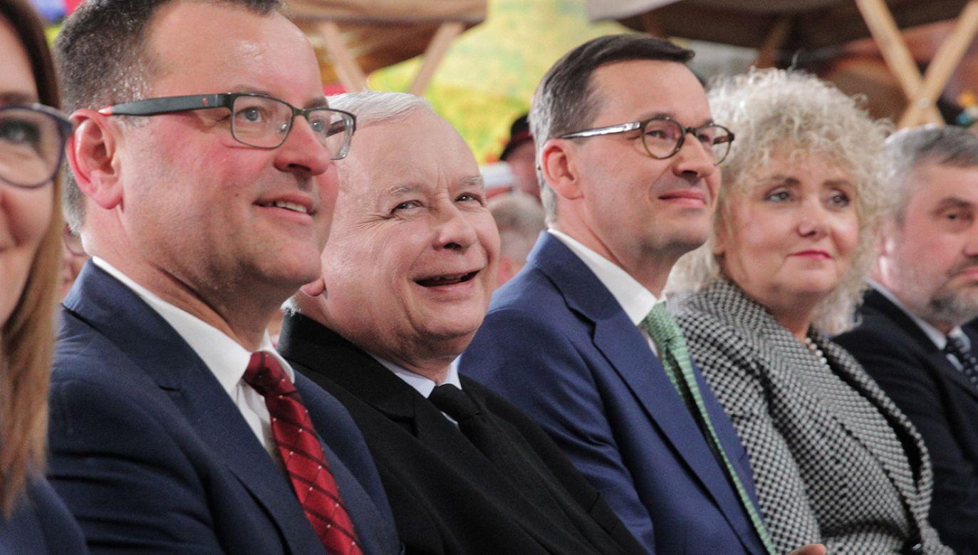 Premier Mateusz Morawiecki z największym zaufaniem w badaniu (fot. arch.PAP/Tomasz Waszczuk)