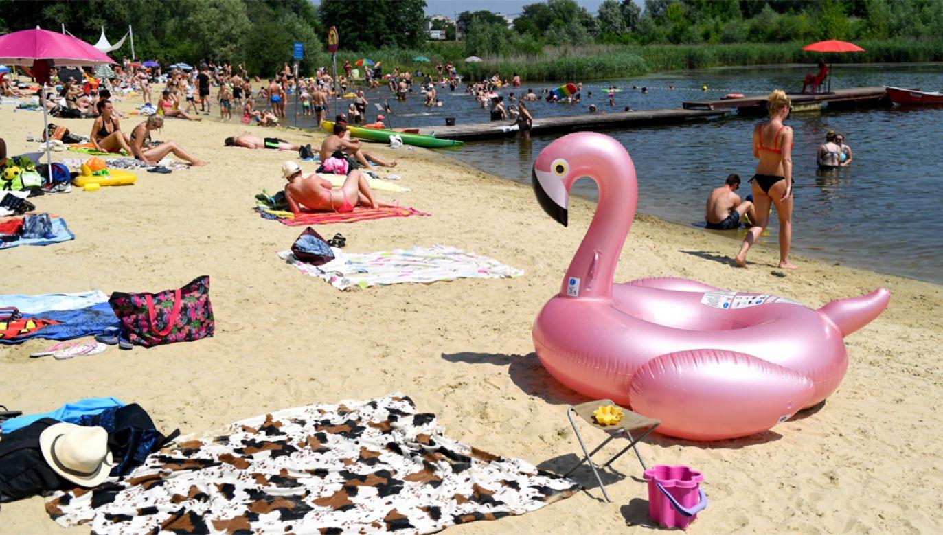 Na Zachodzie temperatura może wynieść nawet 33 stopnie Celsjusza (fot. PAP/Darek Delmanowicz)