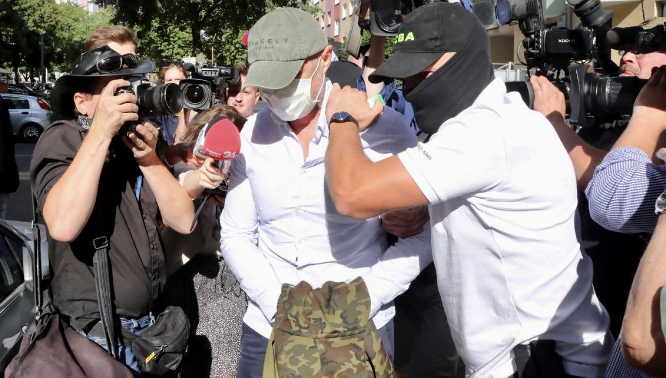 Sławomir Nowak jak dotąd usłyszał trzy zarzuty (fot. PAP/Wojciech Olkuśnik)