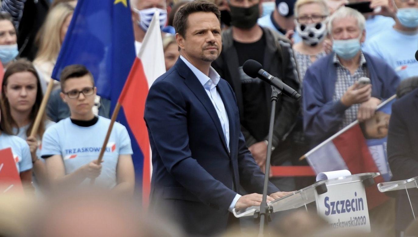 Sekretarz stanu w MSZ wytknął kandydatowi KO kłamstwo (fot. PAP/Marcin Bielecki)