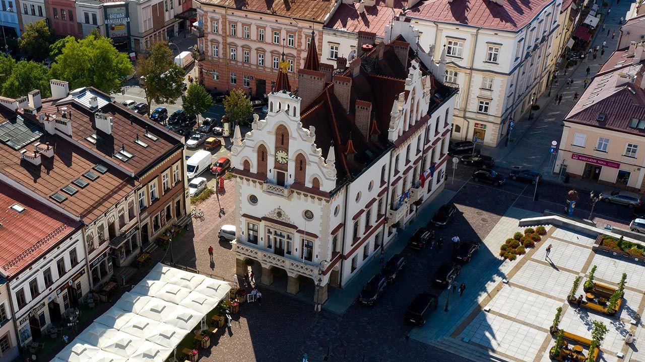Miastem od lat rządził Tadeusz Ferenc (fot. PAP/Darek Delmanowicz)
