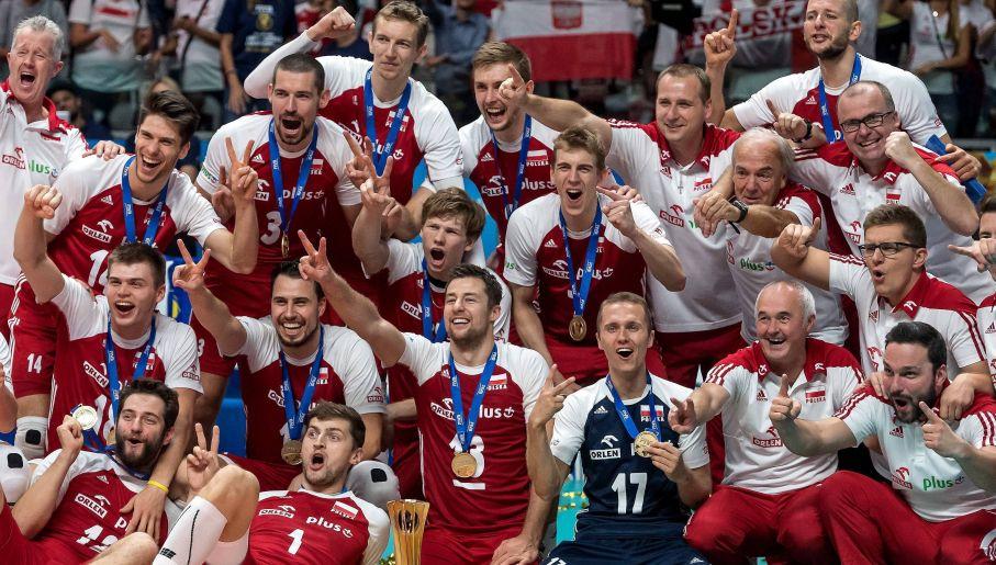 Siedem miesięcy wystarczyło Heynenowi, by doprowadzić Polaków do mistrzostwa świata (fot. PAP)