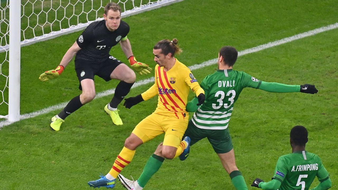Liga Mistrzów: FC Barcelona pokonała Ferencvaros (sport.tvp.pl)
