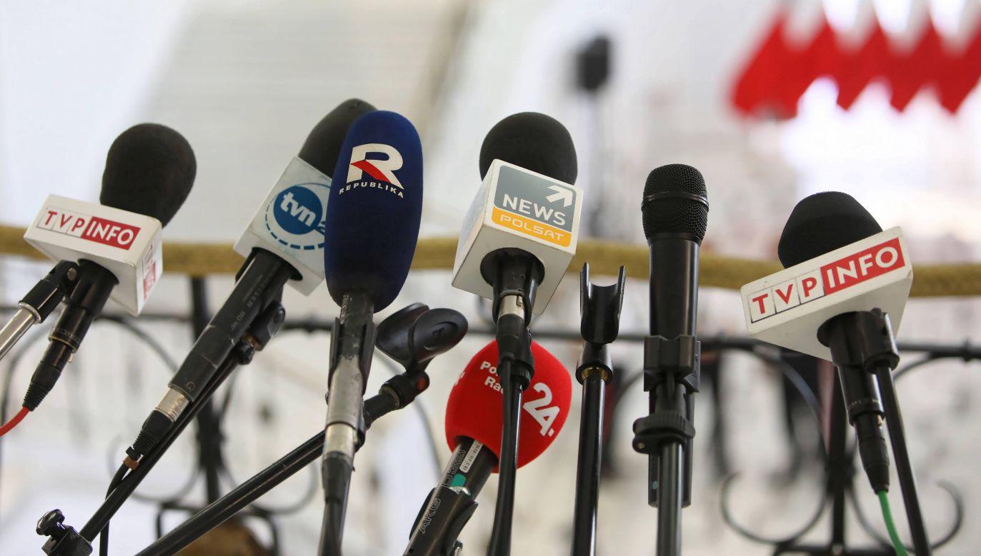 Koncentracja mediów w UE i Stanach Zjednoczonych (fot. PAP/Leszek Szymański)