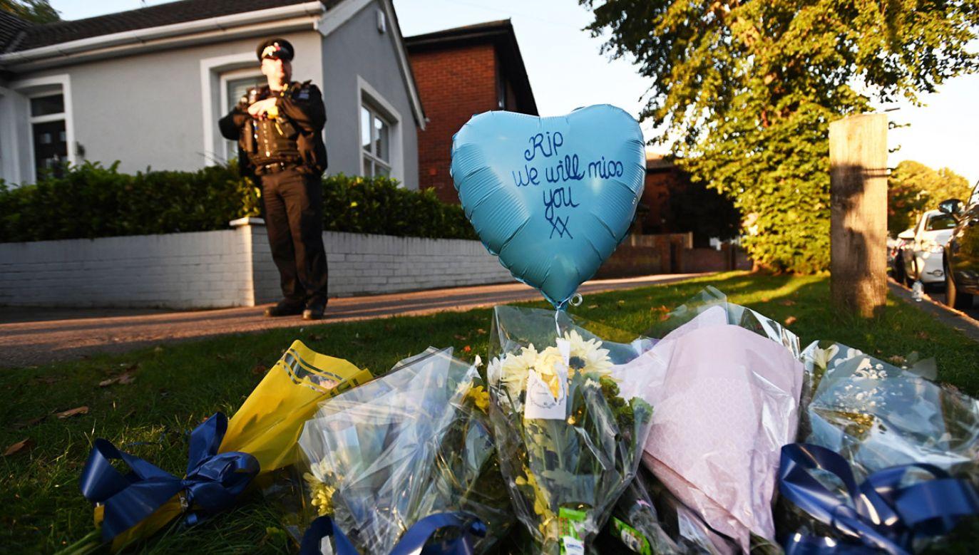 Podejrzany jest w areszcie (fot. PAP/EPA/Andy Rain)
