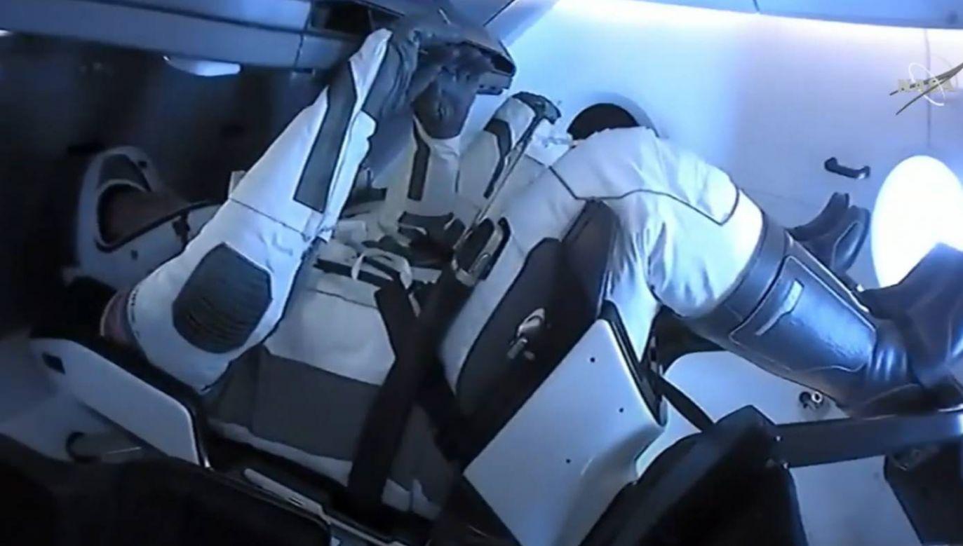 Astronauci wracają po dwumiesięcznym pobycie na ISS (fot. PAP/EPA/NASA)