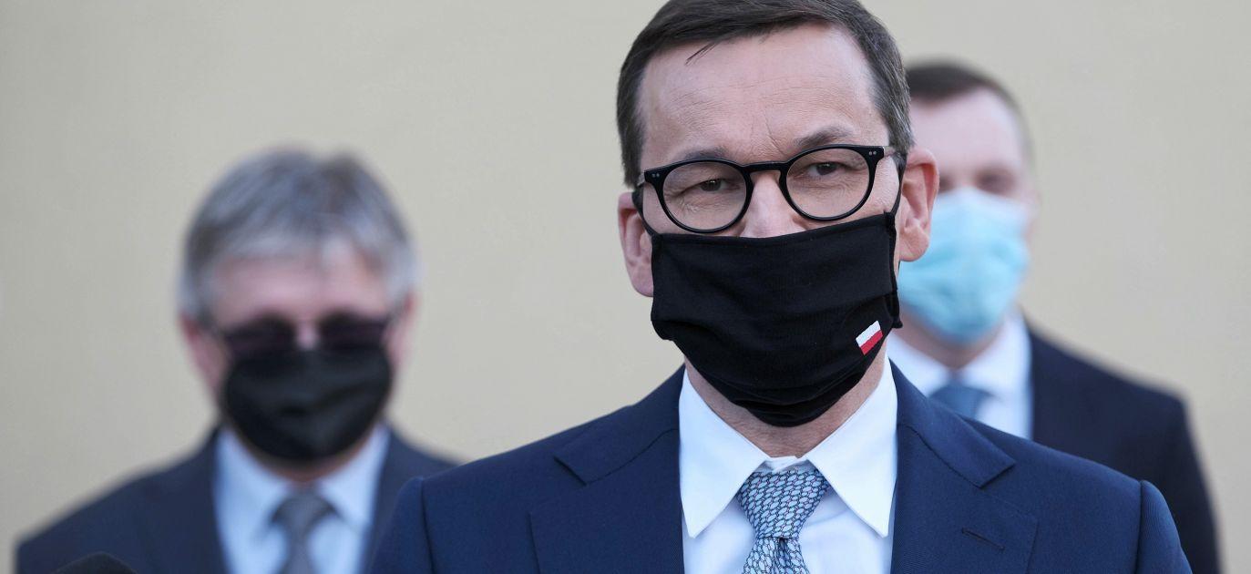 Polish PM Mateusz Morawiecki. Photo: PAP/Mateusz Marek