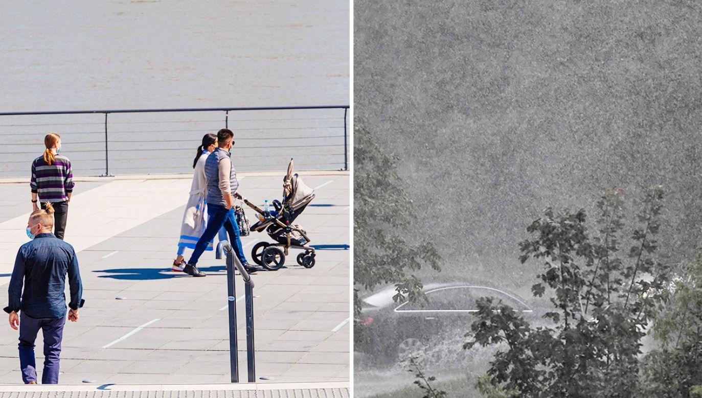 Miejscami pogoda może zaskoczyć; będzie niebezpiecznie (fot. PAP/ Albert Zawada; Wojtek Jargiło)