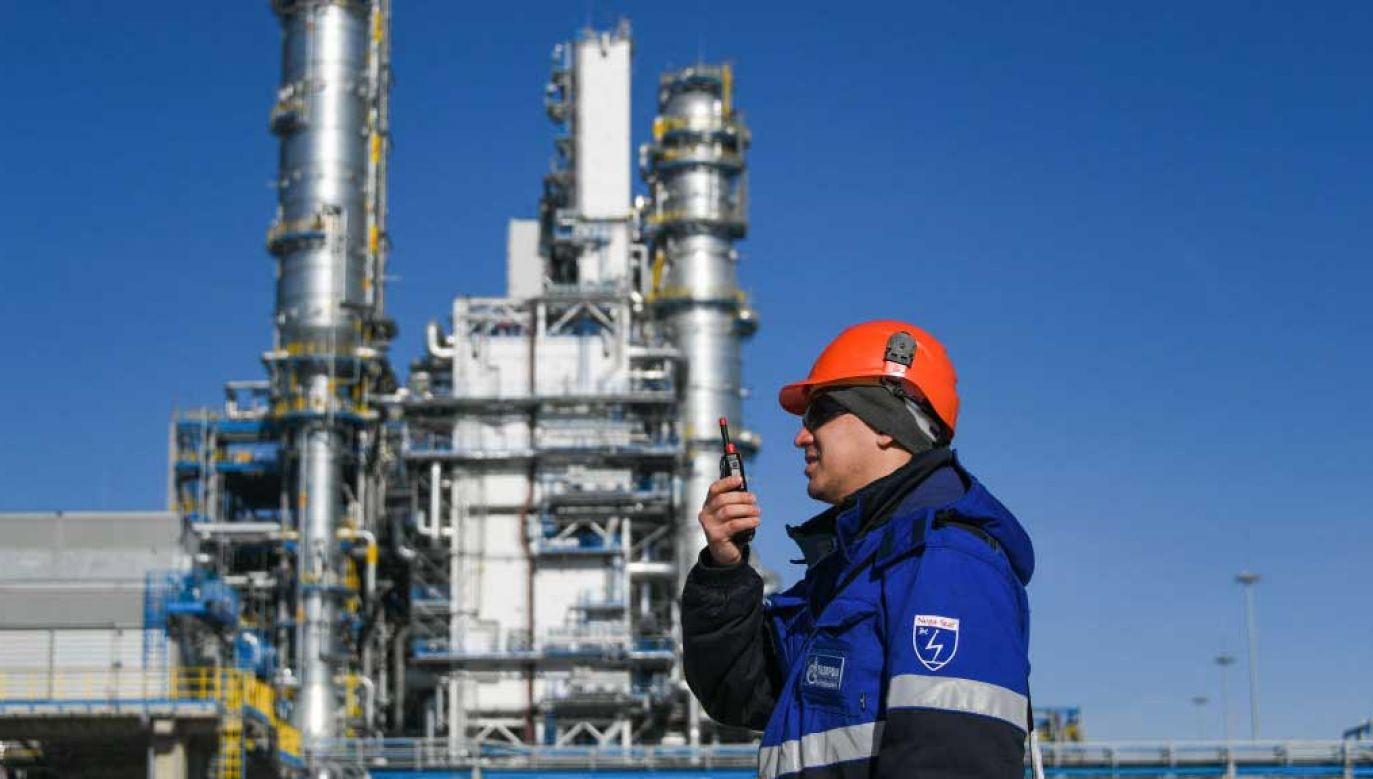 Gazprom blokuje dopływ gazu do Europy przez Polskę, Białoruś i Ukrainę (fot.  Yuri Smityuk\TASS via Getty Images)