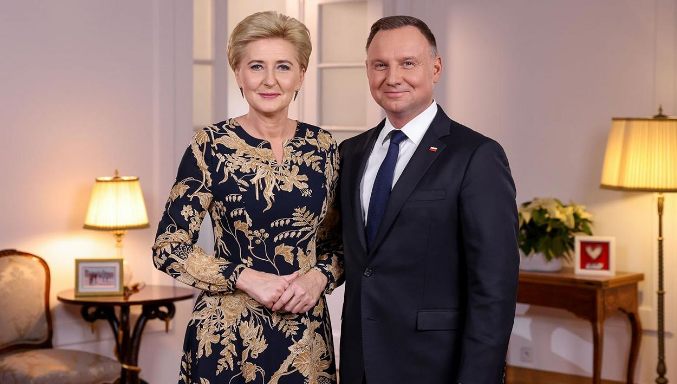 Para prezydencka apeluje o pomoc osobom niepełnosprawnym (fot. Grzegorz Jakubowski/KPRP)