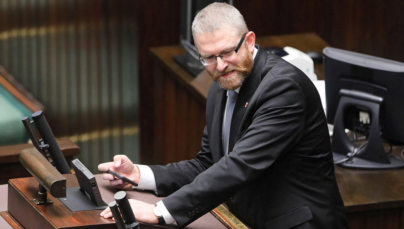 Słowa padły w trakcie debaty po exposé premiera (fot. PAP/Paweł Supernak)