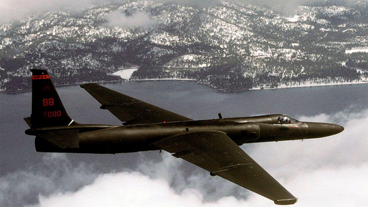 Amerykańskie samoloty U-2 w latach 50. i 60. dokładnie obfotografowały Polskę (fot. USAF)