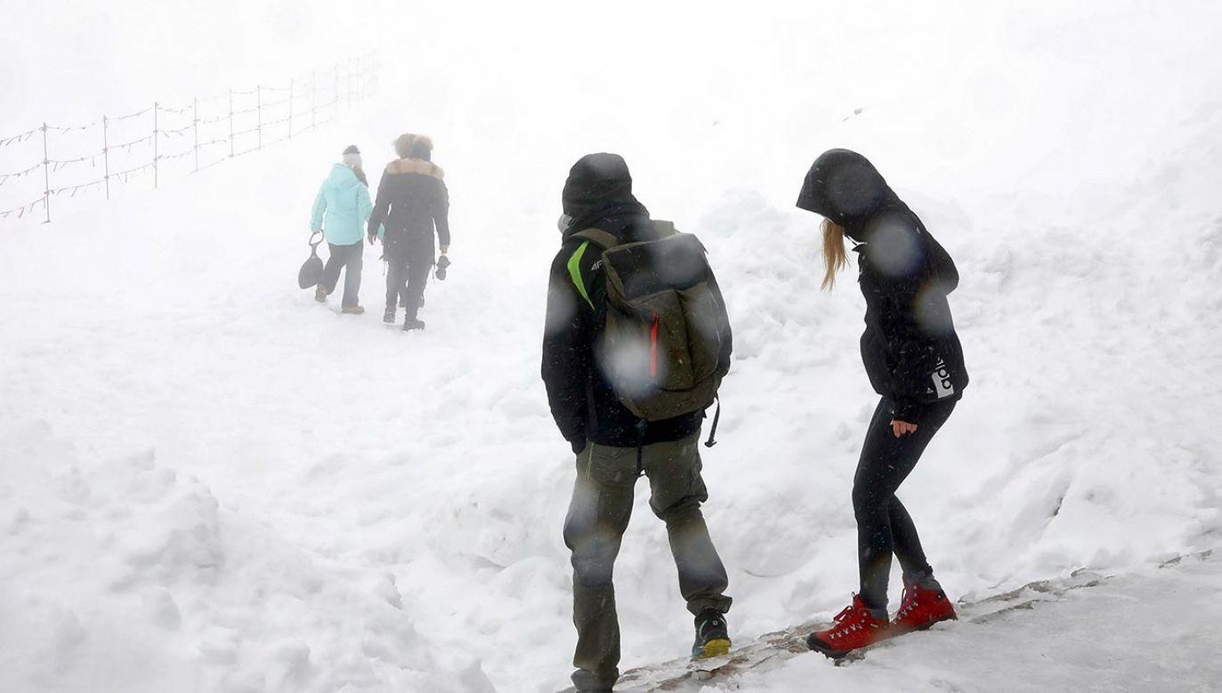 Ratownicy TOPR odradzają wyprawy w wyższe partie gór (fot. PAP/Grzegorz Momot)