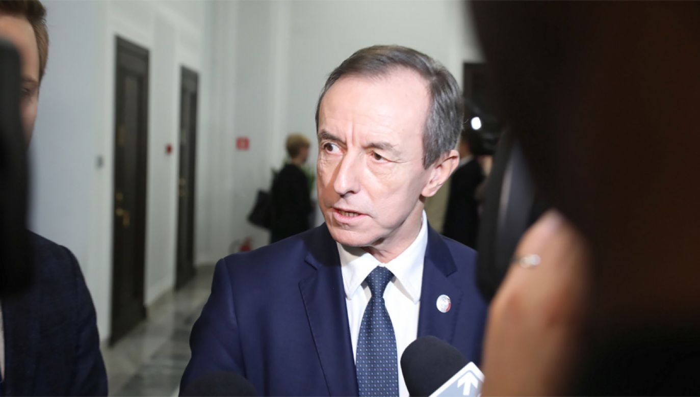 Marszałek Senatu Tomasz Grodzki liczy, że projekt zostanie co najmniej mocno zmodyfikowany (fot. PAP/Tomasz Gzell)