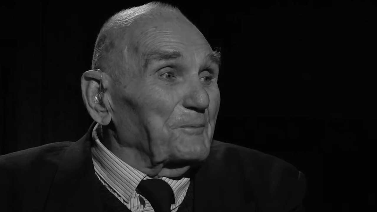 Jan Jabłoniec miał 93 lata (fot. YT/Polskie Radio)